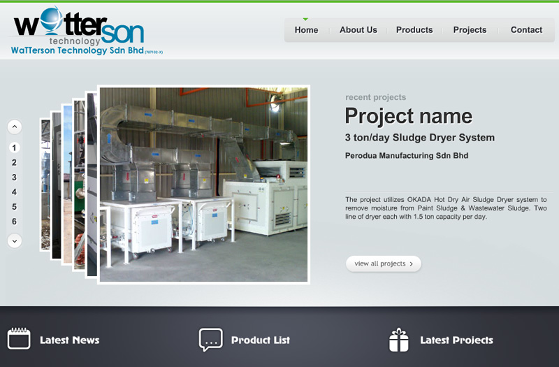 Watterson Technology Sludge Waste Treatment