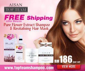 Aisan Top Team Hair Care Shampoo Malaysia