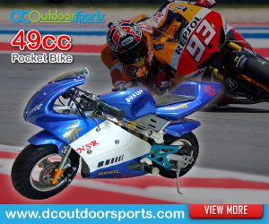 DC Outdoor Sports - 49cc Mini Pocket Bike, Scrambler, Dirt Bike, ATV For Sale Malaysia