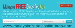 Malaysia Free Classified Ads